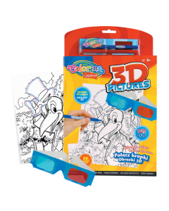 Colorino Creative Забавна книжка 3D картини