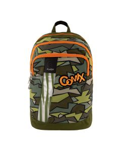 Ученическа раница COMIX Flash Broken Camo