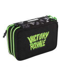 Ученически троен несесер Fortnite Victory Royale