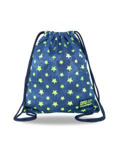 Спортна торба COOLPACK - SOLO L - YELLOW STARS