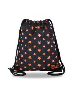 Спортна торба COOLPACK - SOLO L - ORANGE STARS