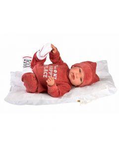 Кукла Llorens Tina Pelele Burdeos Con Cojin 44 см