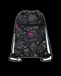 Спортна торба COOLPACK - VERT - B W SCRIBBLE