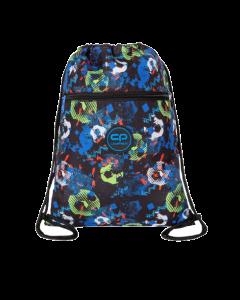 Спортна торба COOLPACK - VERT - FOOTBALL BLUE