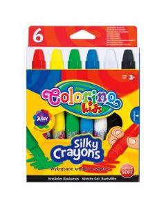 Пастели 6 цвята Silky