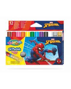 Colorino Marvel Avengers маслени пастели 12 цвята