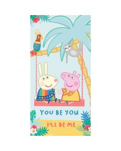 Плажна хавлия Peppa Pig Summer