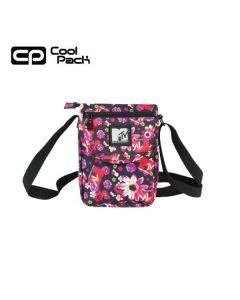 Малка чанта за рамо CoolPack Jazz Flowers