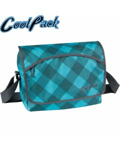 Чанта за рамо CoolPack Reporter Turquoise