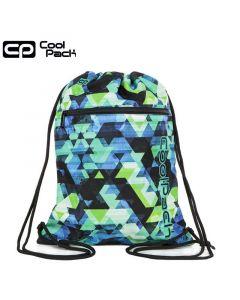 Спортна торба с връзки LED KALEIDOSCOPE - COOLPACK