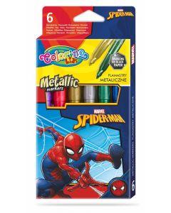 Colorino Marvel Avengers Metallic маркери металик 6 цвята
