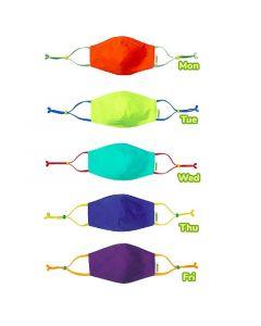 Crayola™ Adults Cool Colors, маски за лице за тийнейджъри, учители и възрастни, в сет, 5 броя