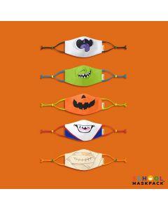 Crayola™ Kids Halloween, детски маски за лице в сет, 5 броя