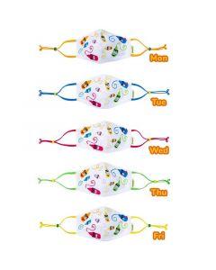 Crayola™ Kids Craymoji, детски маски за лице в сет, 5 броя