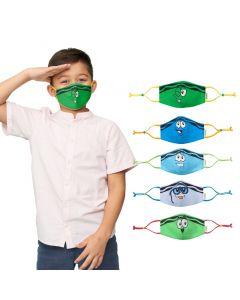 Crayola™ Kids Tip Faces, Blues and Greens, детски маски за лице в сет, 5 броя