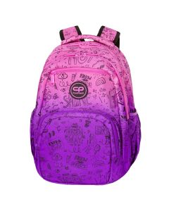Раница COOLPACK - PICK - PURPLE SCRIBLE