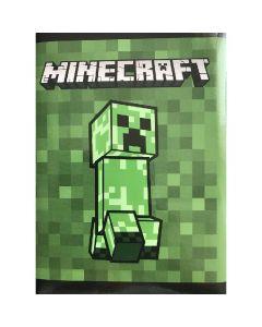 Дневник Органайзер Minecraft зелен