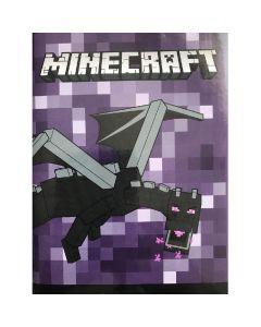 Дневник Органайзер Minecraft лилав
