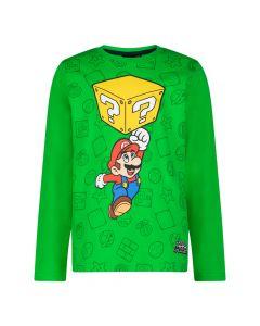 Блуза с дълъг ръкав Super Mario Green