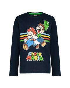 Блуза с дълъг ръкав Super Mario Black