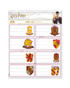 Ученически етикети Harry Potter Griffindor - 16 бр.