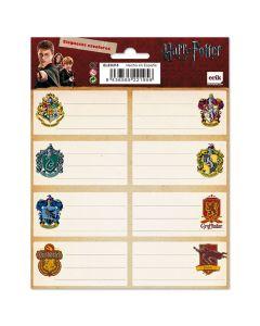 Ученически етикети Harry Potter герб - 16 бр.