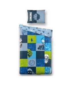 Детски спален комплект Fortnite Blue Patchwork