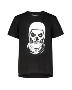 Тениска Fortnite Skull Trooper black