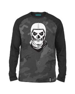 Блуза Fortnite Scull Trooper Gray