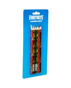 Fortnite комплект от 6 цветни молива