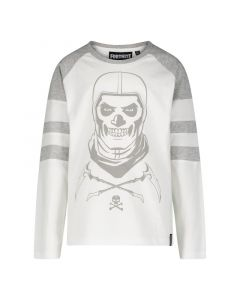 Блуза Fortnite Skull Trooper White