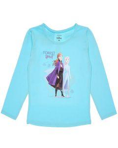 Блуза Frozen синя за момиче