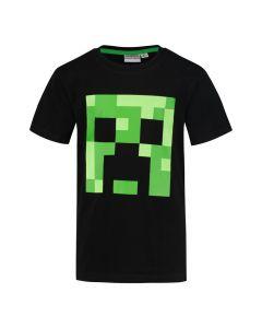 Тениска Minecraft Black Creeper