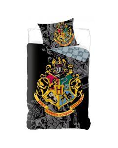 Детски спален комплект Harry Potter герб сив
