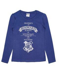 Блуза Harry Potter синя за момиче