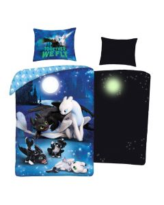 Детски спален комплект Как да си дресираш дракон светещ в тъмното
