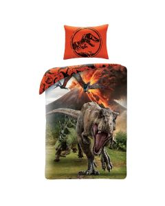Детски спален комплект Jurassic world червен
