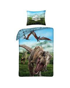 Детски спален комплект Jurassic world син