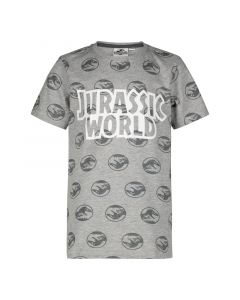 Тениска Jurassic World gray