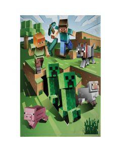 Поларено одеяло Minecraft Overworld 130х170 см