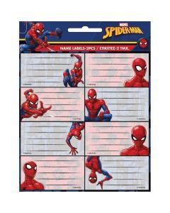 Ученически етикети Spiderman - 16 бр.