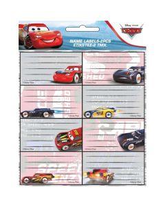 Ученически етикети The Cars - 16 бр.