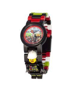 LEGO City пожарникар 2019 детски часовник