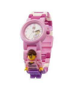 LEGO Classic розов детски часовник