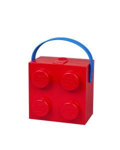 LEGO Lunch Box с дръжка - червена