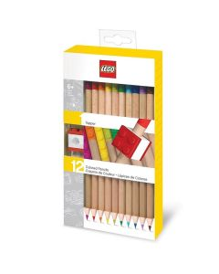 LEGO моливи - цветни 12 бр.