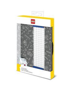 LEGO сив тефтер с LEGO лента