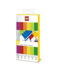 LEGO флумастери - 12 броя в опаковка