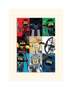 LEGO NINJAGO MOVIE преспапие с всички герои