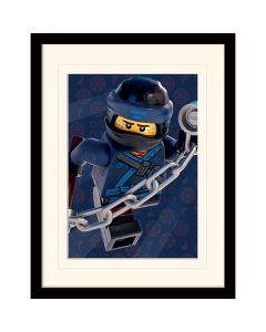 Преспапие Lego Ninjago movie Jay в остъклена рамка